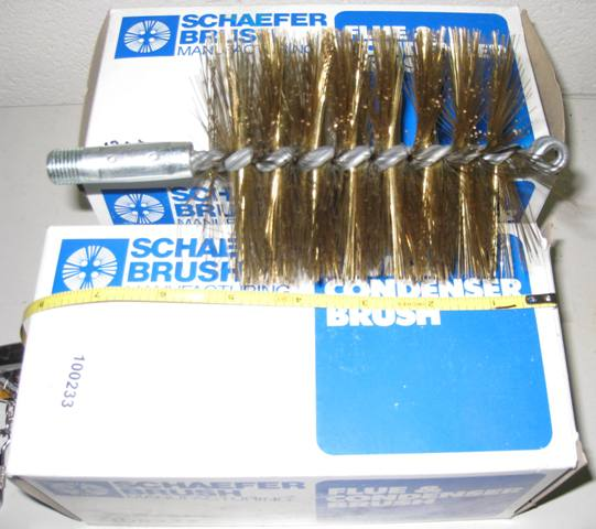 Schaefer Brush Flue & Condenser Brush