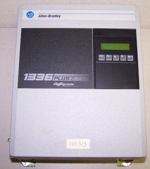 allen bradley 1336 plus ii adjustable frequency ac drive rh allstatessurplus com Allen Bradley Parts Catalog allen bradley 1336 plus ii sensorless vector manual
