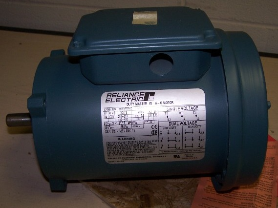 reliance electric duty master ac motor p56h1337x
