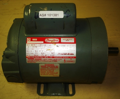 dayton capacitor start motor model 5k110r On dayton motors phone number